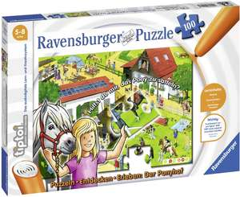 Ravensburger tiptoi Puzzeln, Entdecken, Erleben: Der Ponyhof [Amazon Prime]
