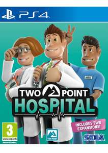 Two Point Hospital (PS4) für 27,95€ (SimplyGames)