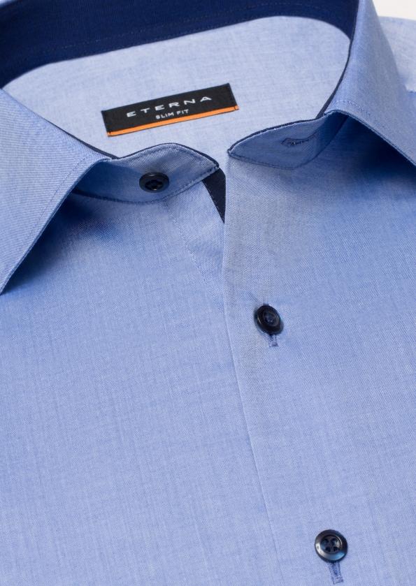 50% auf 5 ausgewählte Slim Fit Hemden, zB: Langarm Slim Fit Stretch [ETERNA]