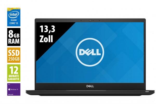 """Dell Latitude 7390 (Grade A+) 13,3"""" Notebook mit Core i5-8350U @ 1,7 GHz - 8GB RAM - 250GB SSD - FHD (1920x1080) - Webcam - Win10Pro"""
