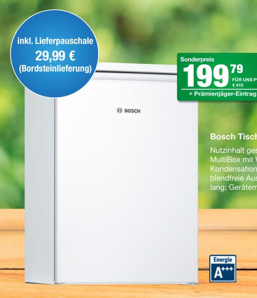 Bosch KTR15NW4A Tischkühlschrank @FürUnsShop