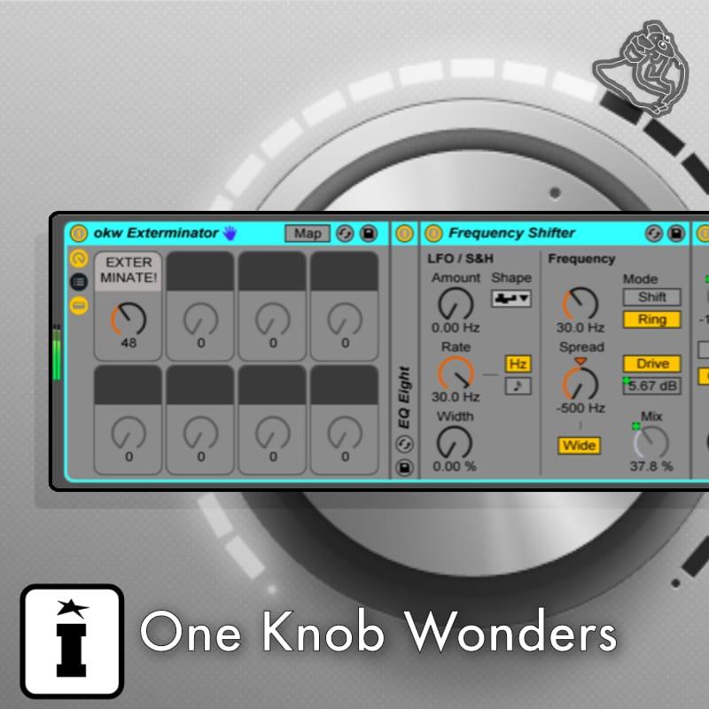 Isotonik Studios One Knob Wonders Audio Effekt PlugIn für Ableton Live [Musik App]