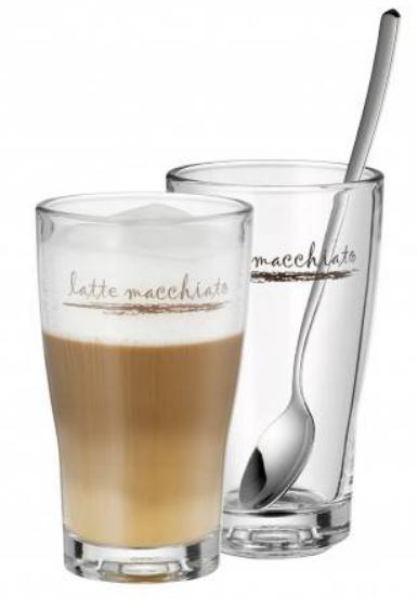 WMF Latte Macchiato Set 4-teilig Barista