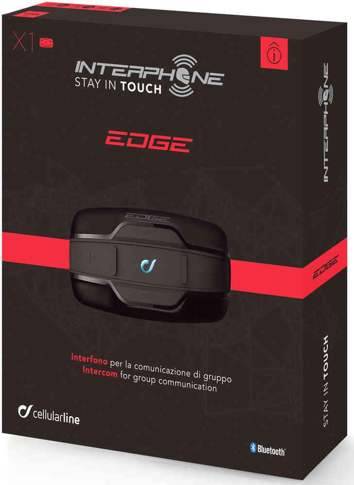 "Motorrad-Headset ""Interphone Edge Bluetooth"" Doppelpack"