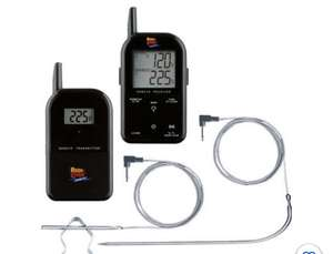 Maverick ET-732 Wireless Barbecue Funk-Thermometer Set schwarz