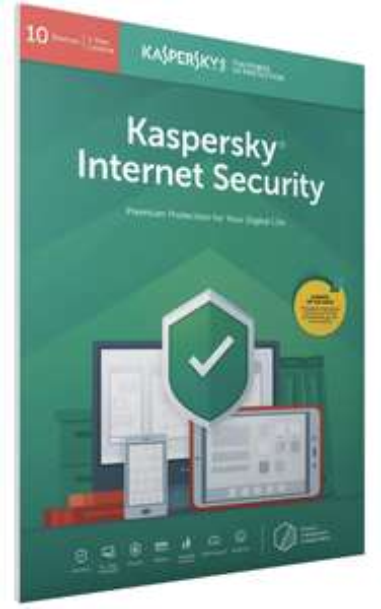 Kaspersky 1-Jahreslizenz für 10Geräte - Originalpackung, Aktivierungscode per Post