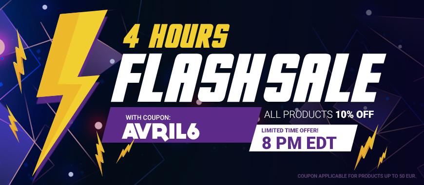 Gamivo Flashsale 4 Stunden ab 02:00 Uhr