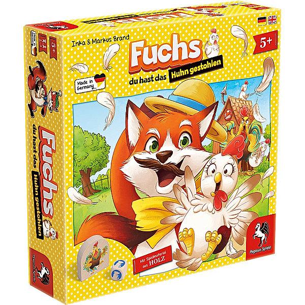 Fuchs du hast das Huhn gestohlen (mit Spielmaterial aus Holz) (Weltbild)