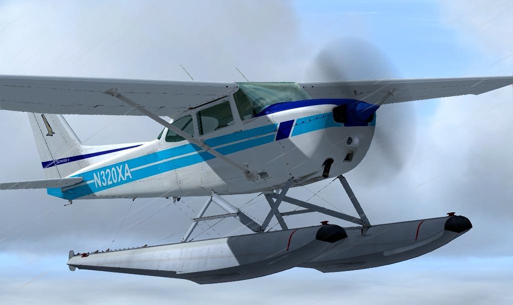 Aeroproyecto Cessna 172N Floatplane R1.1 AddOn für Flight Simulator X (FSX) und Prepar3D (P3D)