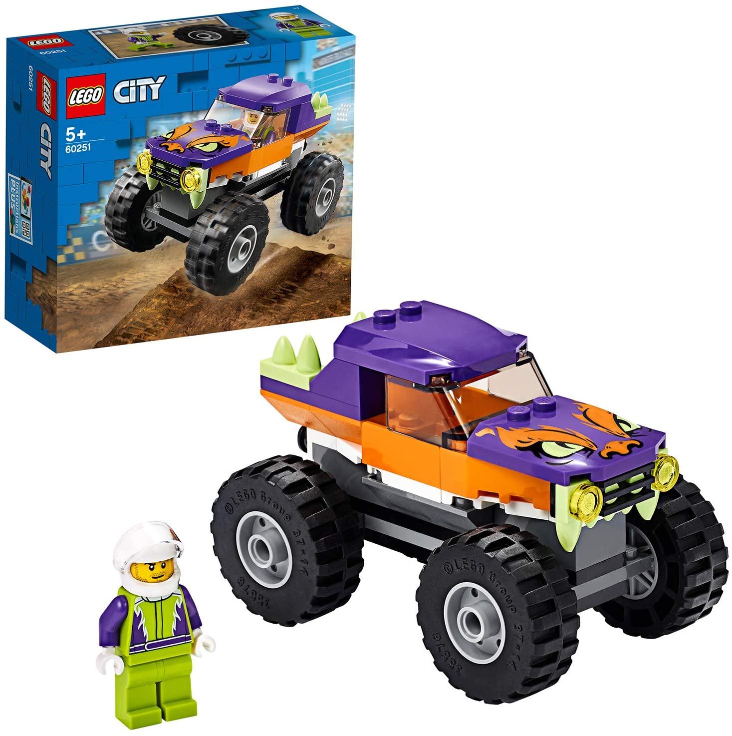LEGO City - Monster-Truck (60251) für 7,70€ (Amazon Prime & Thalia Club)