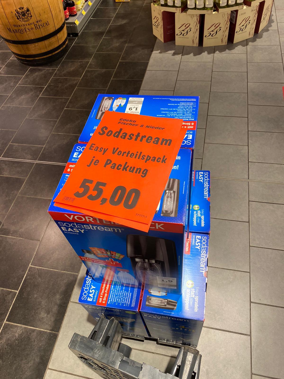 SodaStream Easy Vortailspack [Leverkusen] für 55€
