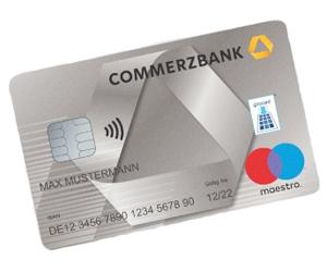 [Webcent] 45€ Cashback + 50€ Startguthaben Commerzbank Girokonto