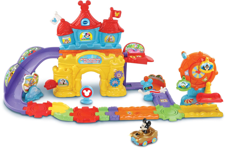Vtech Tut Tut Baby Flitzer - Mickys magisches Wunderland für 32€ & Vtech ZoomiZooz - 6er Set Wilde Tiere, Babytiere für 7,50€ (Saturn)