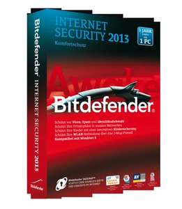 x09 BitDefender Internet Security 2013 VOLLVERSION 3PC für 1 jahr @Ebay