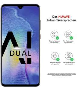 Huawei Mate 20, 4GB/128GB, Dual-SIM, blau, V&V Amazon