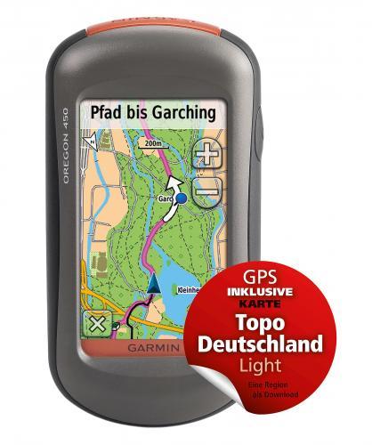 Garmin Oregon 450 Topo D. Light