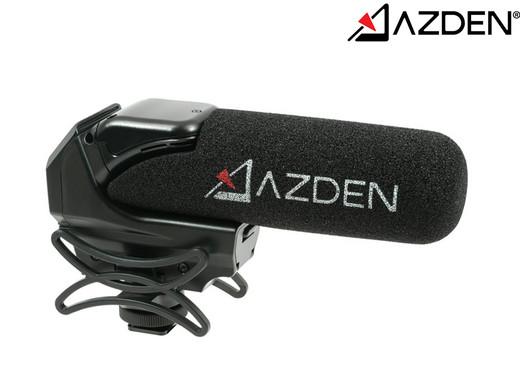 """Azden Videomikrofon """"SMX-15 Powered Shotgun"""" (Low-Cut-Filter, AutoPower-Modus, Verzerrungsresistent) [iBOOD]"""