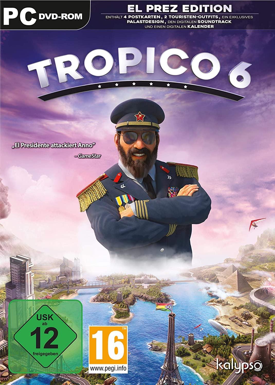 Tropico 6 El Prez Edition (PC) für 14,99€ (Amazon Prime & Saturn & Media Markt Abholung)