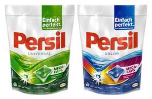 Müller: Persil Mega Caps verschiedene Sorten mit Gutschein für 2,75€