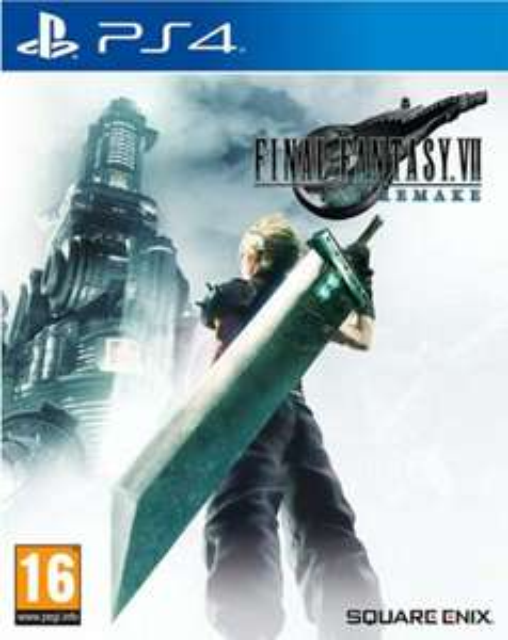 Final Fantasy 7 Remake für PS4