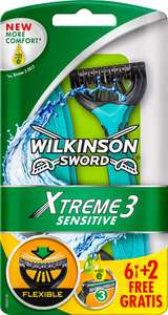 [Kaufland] Wilkinson Sword Xtreme3 Einwegrasierer 8-Stück-Packung Beauty Women oder Sensitive Men