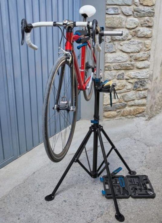 CRIVIT® Montageständer, für Fahrrad-Reparaturen, 360° drehbar, auch für E-Bikes geeignet