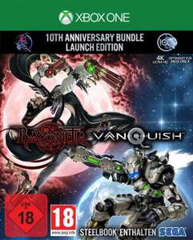 Bayonetta & Vanquish: 10th Anniversary Bundle - Launch Edition inkl.Steelbook (PS4 & Xbox One) für je 27,99€ (Saturn & Media Markt Abholung)