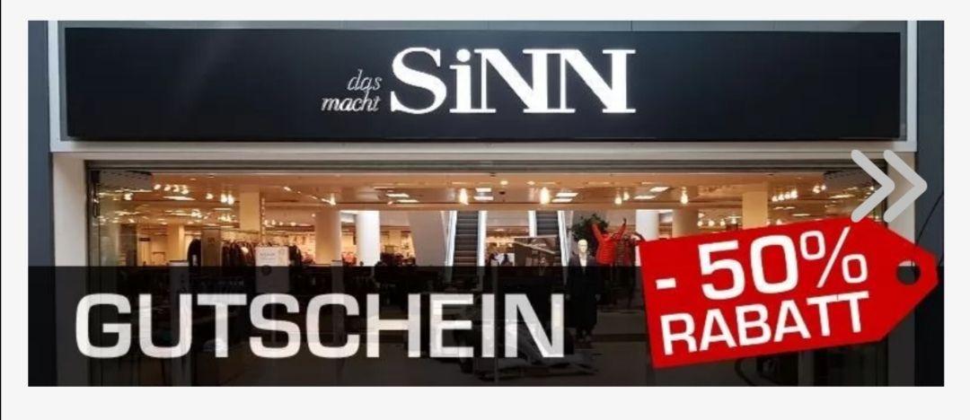 (Lokal Oberhausen) 50 € Sinn Gutschein für 27,90
