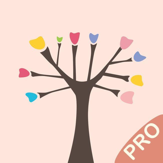 Sketch Tree Pro - professional drawing App   iOS Freebie
