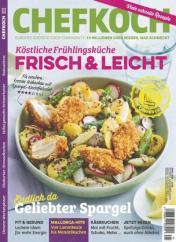 Chefkoch Abo (12 Ausgaben) für 38,40 € mit 30 € Amazon-Gutschein