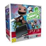 PlayStation 3 - Konsole Slim Black 320 GB + Little Big Planet 2