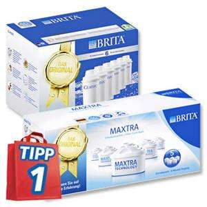 BRITA Wasserfilter Kartuschen Classic/Maxtra - 6er/5er Pack