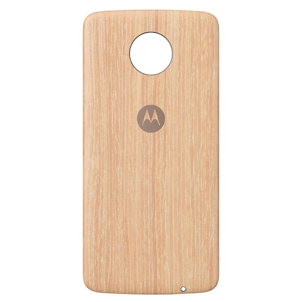 Medion: Moto Z Serie Style Shells Holz je 10,74€