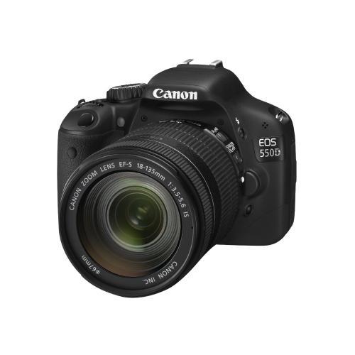 Canon EOS 550D mit Canon 18-135 mm f/3.5-5.6 IS Objektiv für ~651,- € @Amazon.co.uk