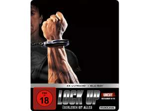 Lock up - Überleben ist alles - Limited Steelbook Edition (4K Blu-ray + Blu-ray) für 16,99€ (Media Markt & Saturn)