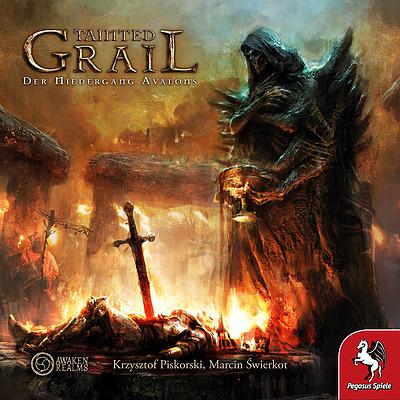 Tainted Grail: Der Niedergang Avalons (Brettspiel / Gesellschaftsspiel) (DE)