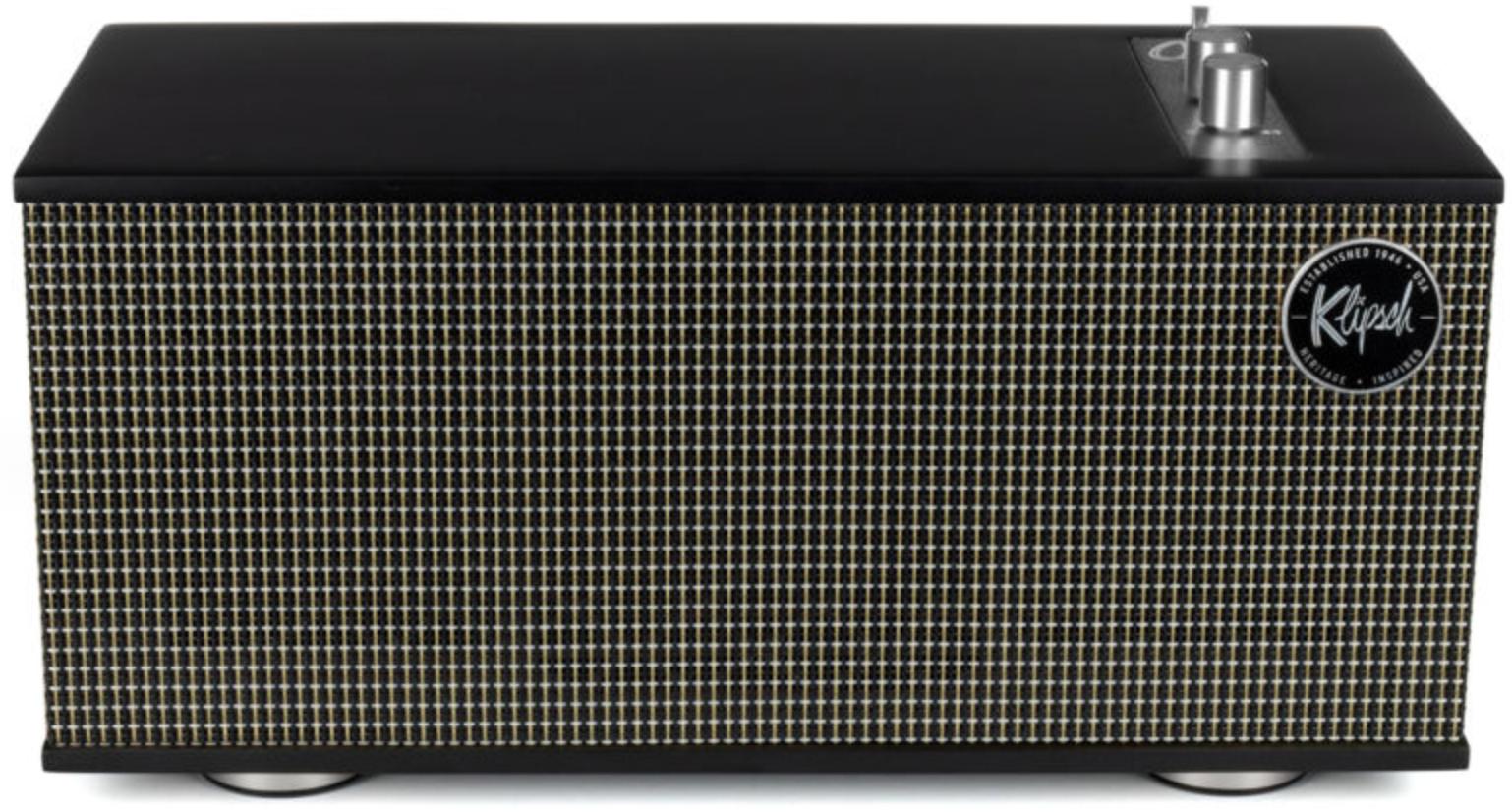 Klipsch The One II - Drahtloser Regallautsprecher Stereo   60 Watt   3,86kg   Echtholzfurnier