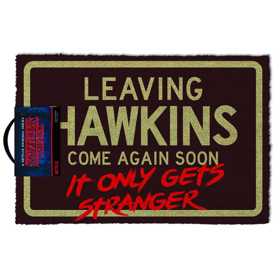 Stranger Things - Leaving Hawkins Come Again Soon Fußmatte für 8€ inkl. Versand (Zavvi UK)