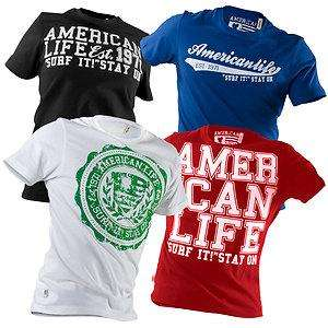 American Life T-Shirts alle Größen 52% Off-Price [online at thE bay]