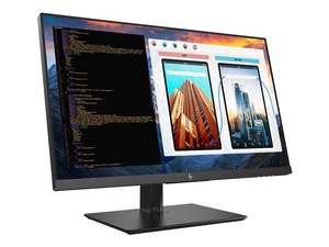 HP Z27 4K-Monitor (IPS, 3840x2160, UHD, 60 Hz, 8 ms, USB-C mit PD, HDMI, (m)DP, VESA, 77 % Adobe RGB, höhenverstell-, kipp-, drehbar, Pivot)