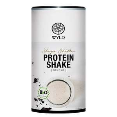 "450g WYLD Bio Protein Shake ""Shape Shifter"" (Schokolade oder Erdbeer-Kokos, MHD 30.07. bzw. 30.06.)"