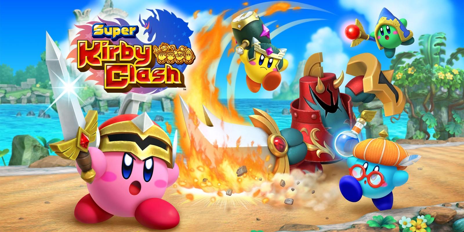 Super Kirby Clash (Switch) - Apfeljuwelen - Geheimwort des Monats (Mai)