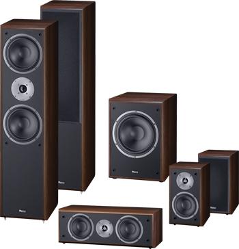 Magnat Monitor Supreme 5.1 Surround Set in mocca bis 03.05. zum Bestpreis