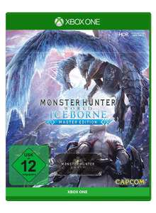 Monster Hunter World: Iceborne Master Edition inkl. Steelbook (Xbox One) für 29€ versandkostenfrei (Media Markt)
