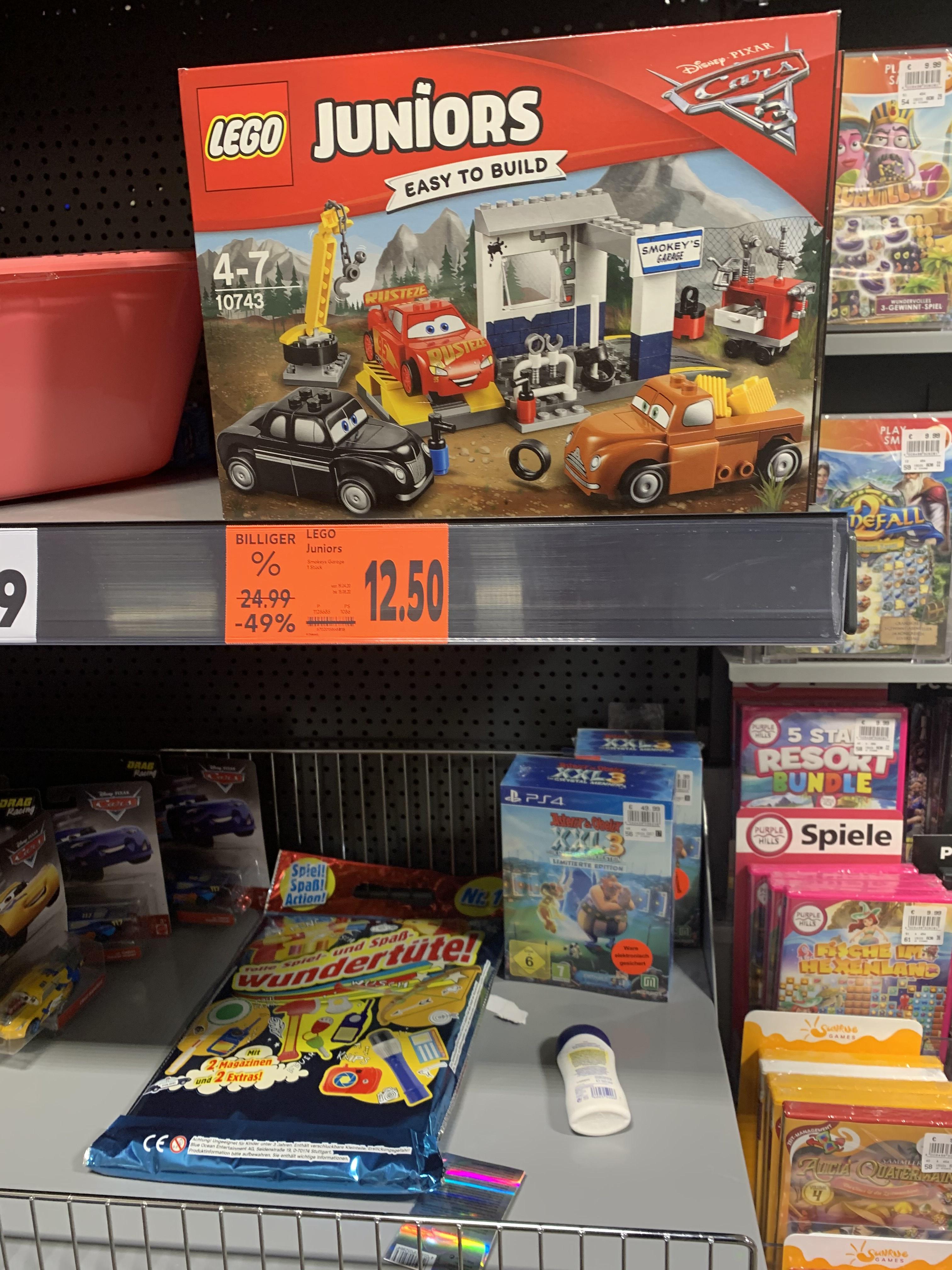 Lego 10743 Juniors Cars Pixar Disney Lokal Kaufland Berlin Spandau Juliusturm
