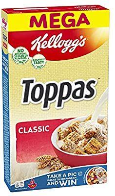 Kellogg's Toppas Classic Cerealien | 5 x 700g= 3,5 kg - mit Prime