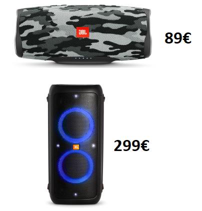 JBL Charge 4 Camouflage Bluetooth-Lautsprecher (7500mAh, USB-C) für 89€