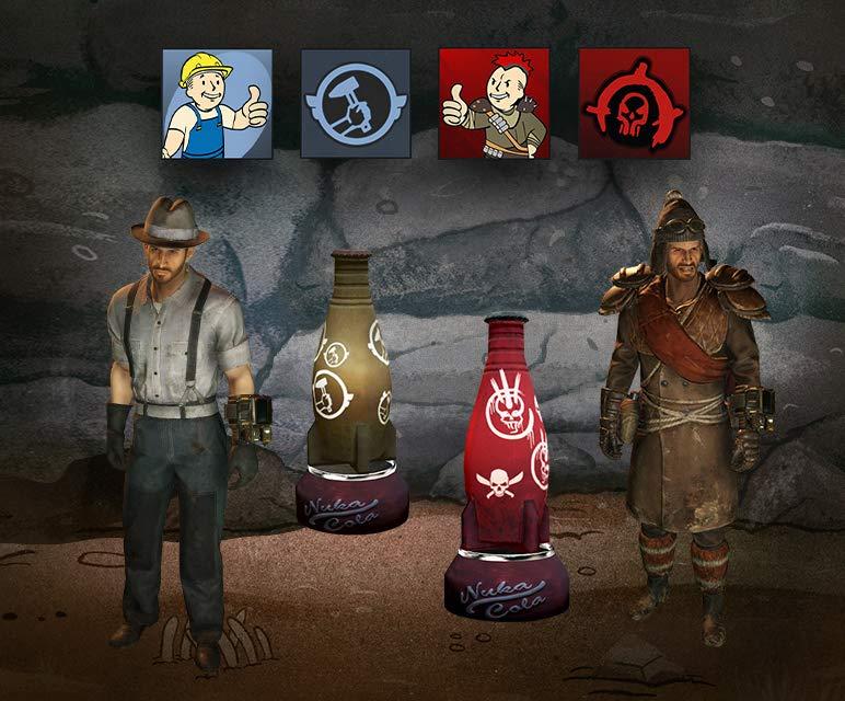 Fallout Wastelanders-Bundle (Loot-Paket) kostenlos für Fallout 76 (PC, PS4 & Xbox One) (Twitch Prime)