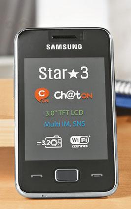 Smartphone Samsung Star 3 (S5220) ab 14.01.  für 59,99€ (idealo 74,84€) bei Kaufland