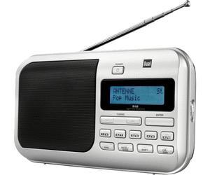 [LOKAL Pforzheim] Dual DAB 4 tragbares Digitalradio (DAB+/UKW-Tuner) für 24,99€